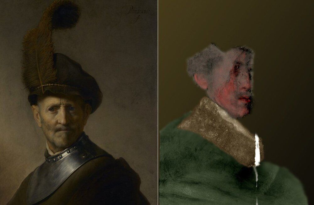 Teadlased taastasid Rembrandti maali seest ülemaalitud portree