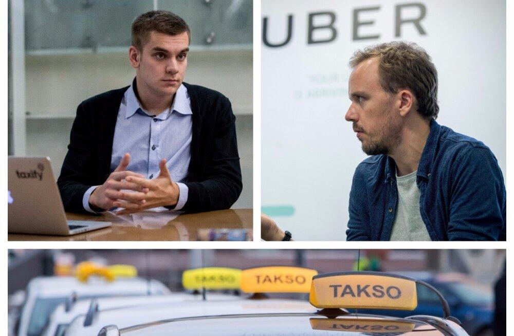 Uberi seadus täies hoos: autojuhid ootavad uusi lube, taksojuhid pole ikka rahul