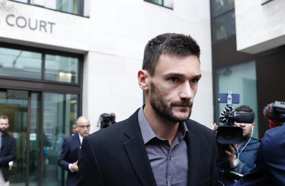 Umbjoobes peaga restoranist koju sõitnud Tottenhami väravavaht sai karistuse teada