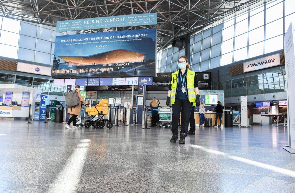 Praegu liigub Helsingi lennujaamast päevas läbi 4000-6000 reisijat, nende arvu suurendamiseks töötatakse Soomes selle kallal, et leevendada liikumispiiranguid testimise kasuks.