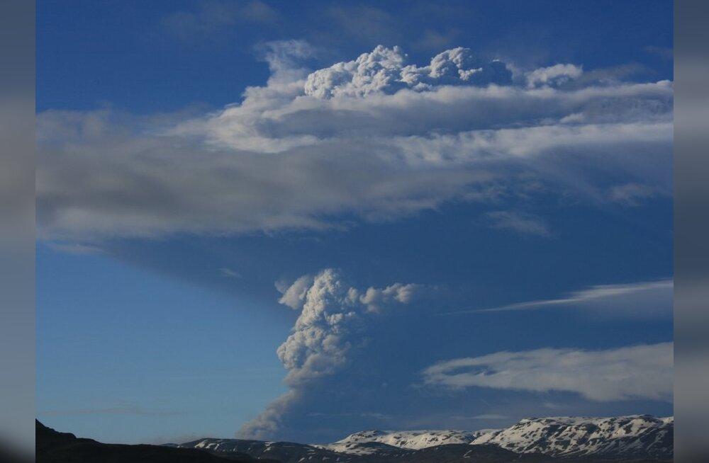 Geoloog: Grimsvötni vulkaanipurse on lõppenud