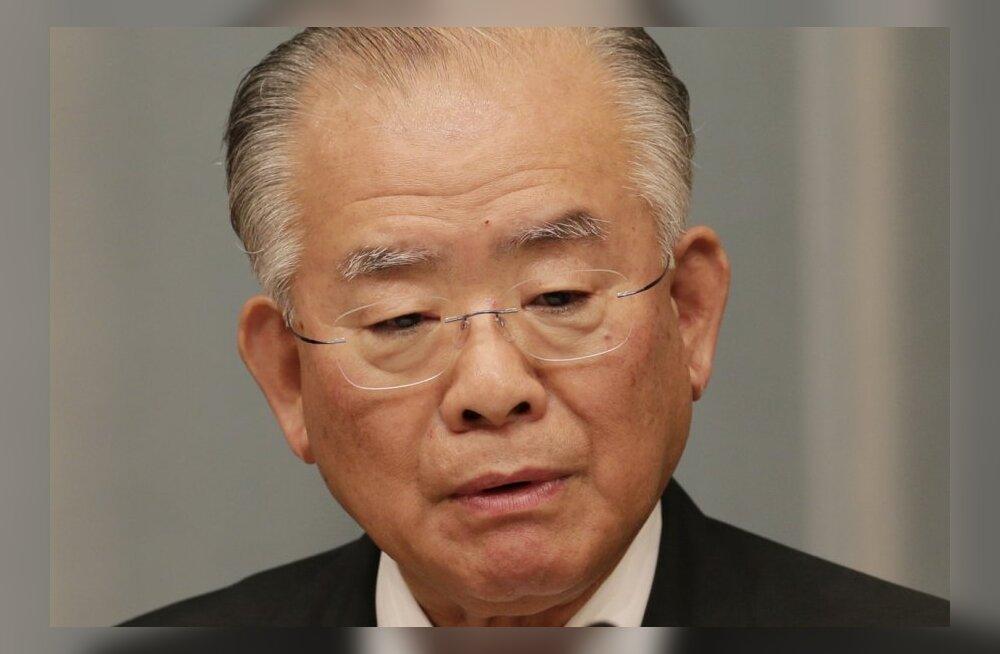 Meedia: Jaapani minister tegi skandaali ennetades ilmselt enesetapu