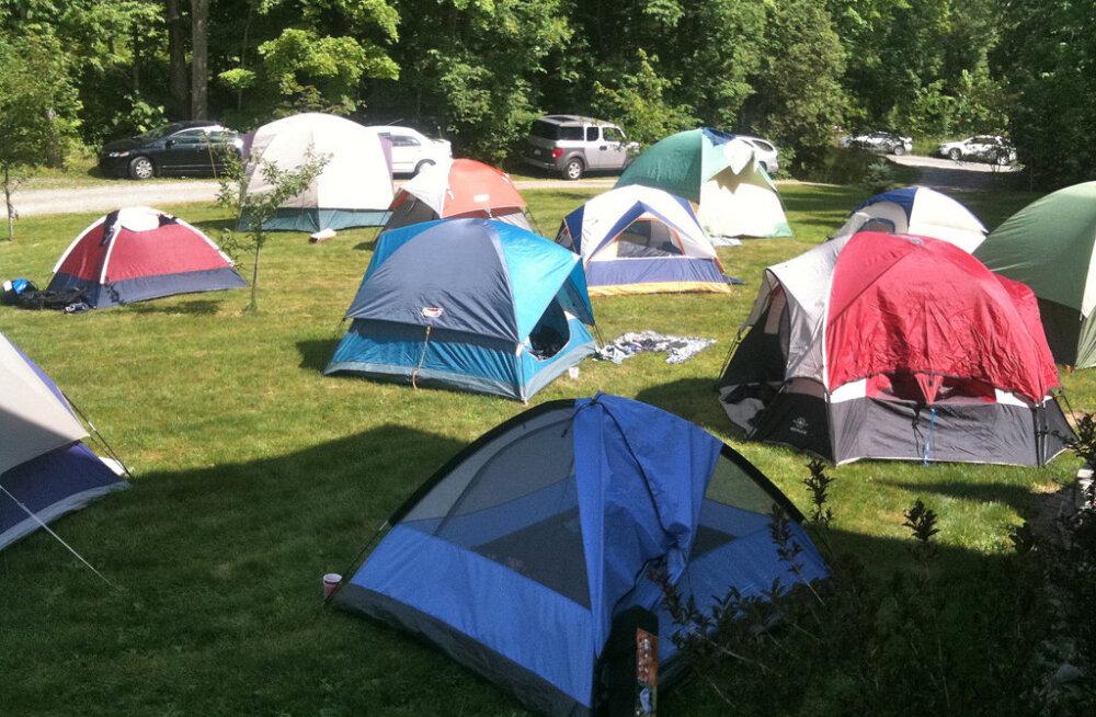 Гости Евровидения будут жить в палатках, расставленных в центральном парке Тель-Авива