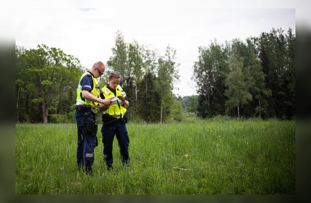 Metsa eksinud seeneline päästeti politseisõiduki sireeni abil