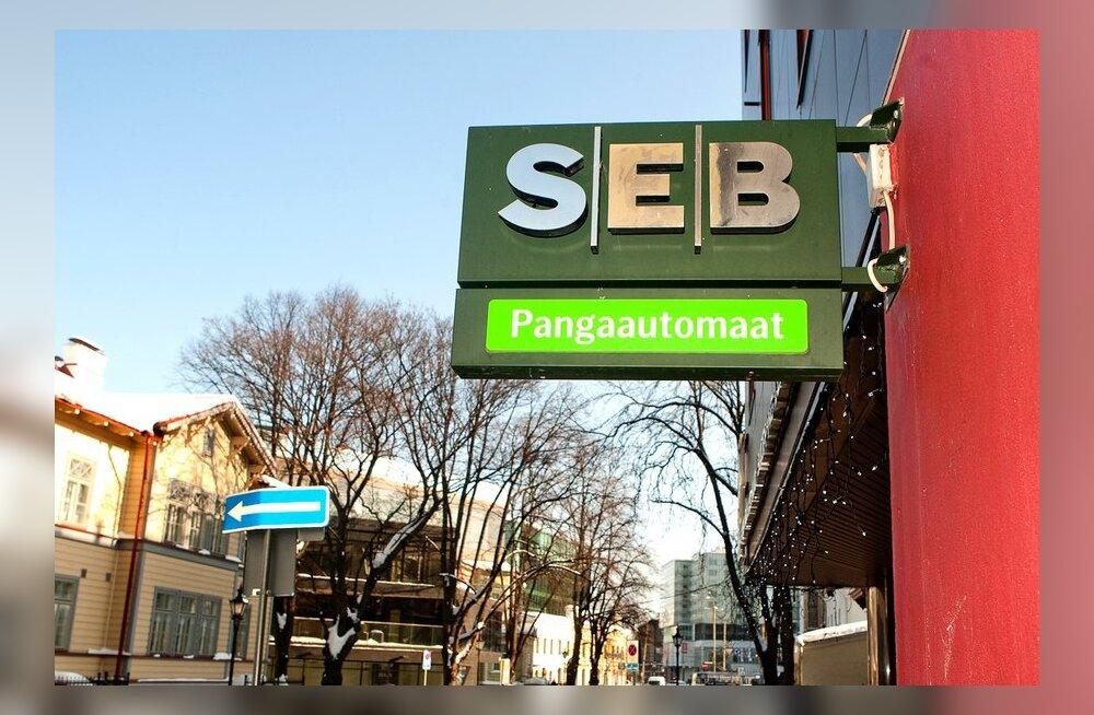Ka SEB panga kaardimaksetel esines täna häireid