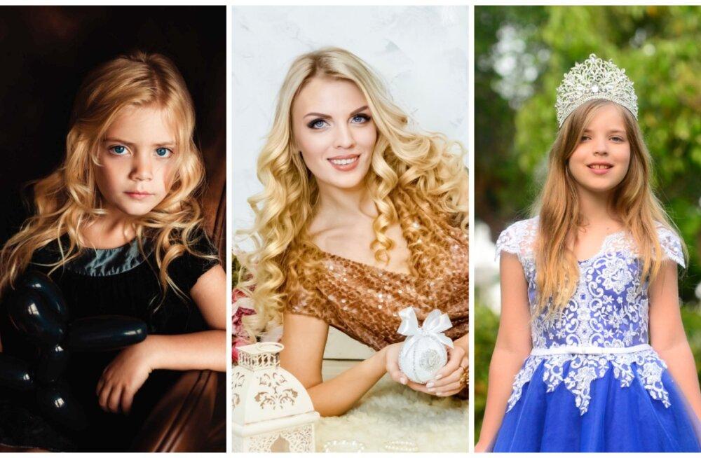 Эстонская семья моделей поедет покорять мир