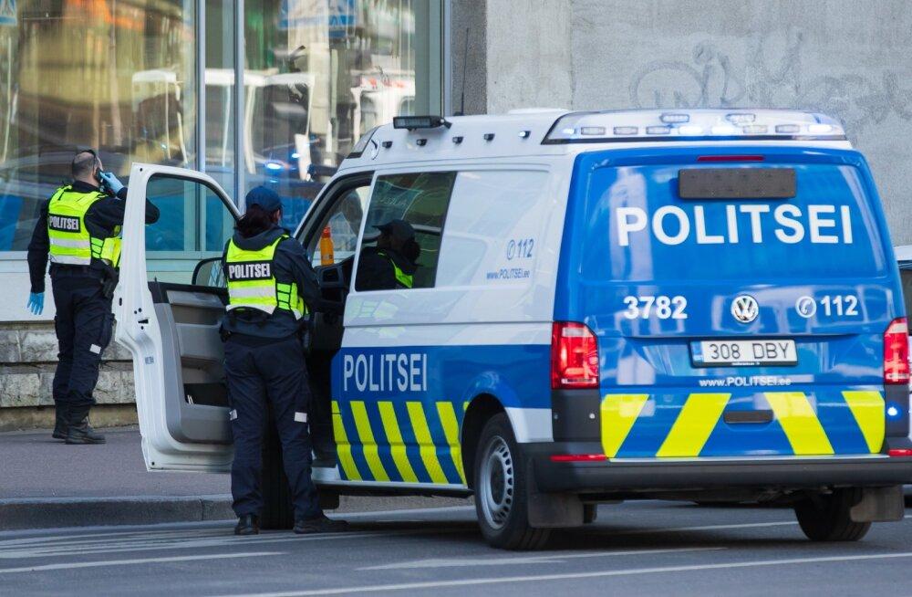 Õnnetus Tallinna kesklinnas 03.06.2020