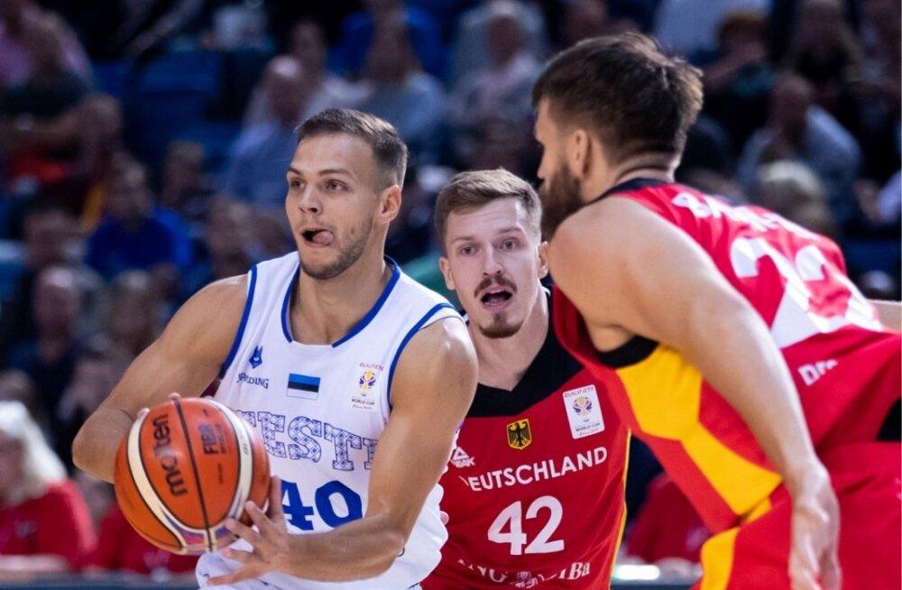 Korvpall Eesti vs Saksamaa