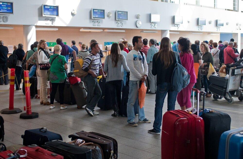 Где самое грязное место в аэропорту?