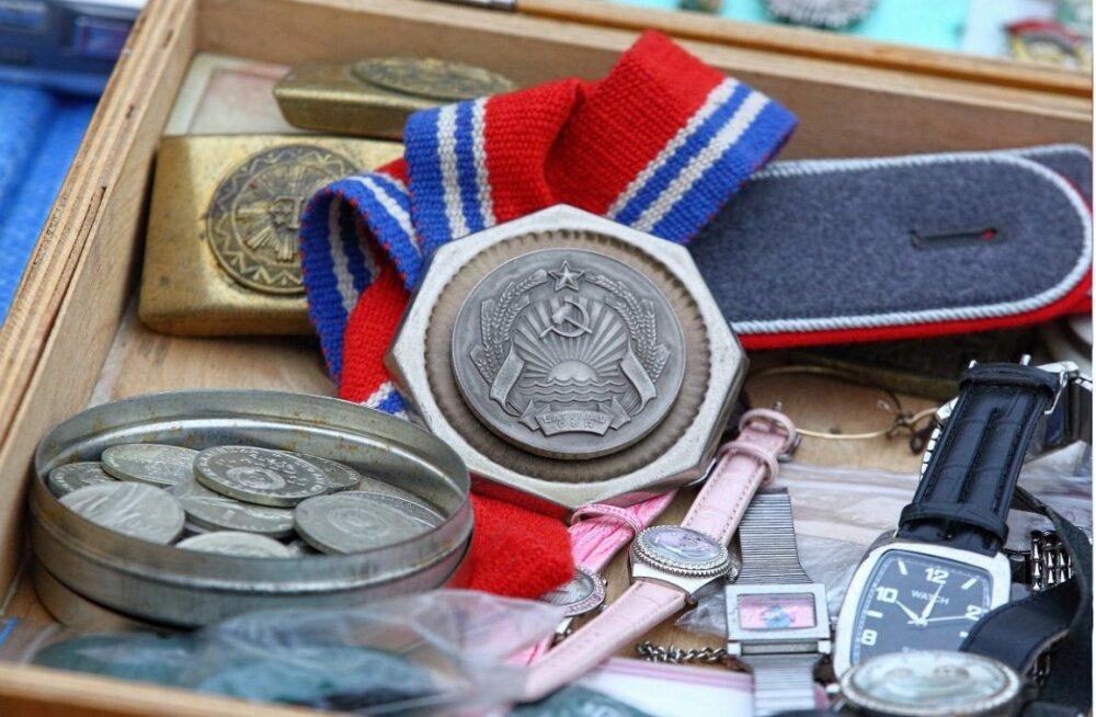 ФОТО: какие сокровища можно найти на рижском блошином рынке
