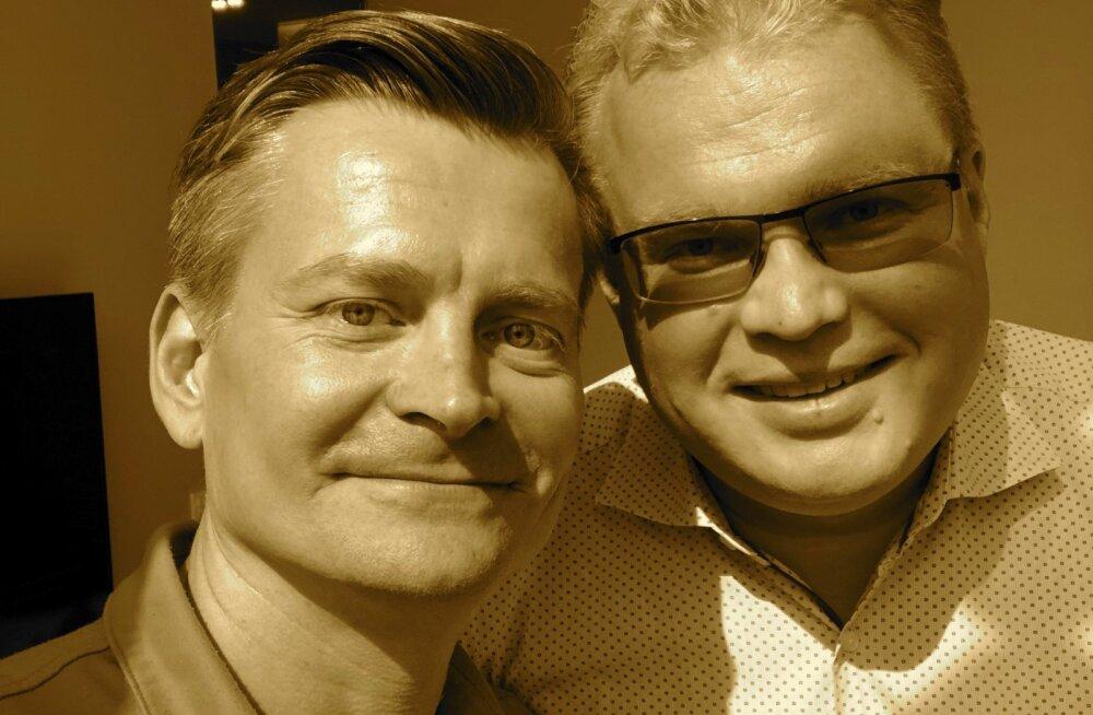 Kalev Reiljan (paremalt) ja Veiko Valkiainen.