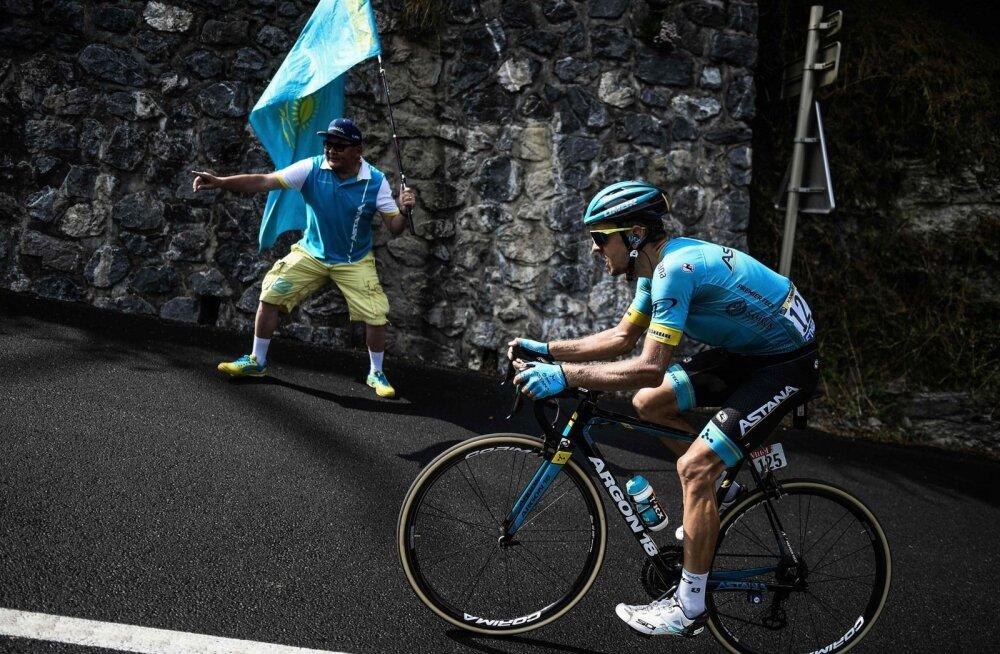 Tanel Kangert Touril etapivõitu üritamas
