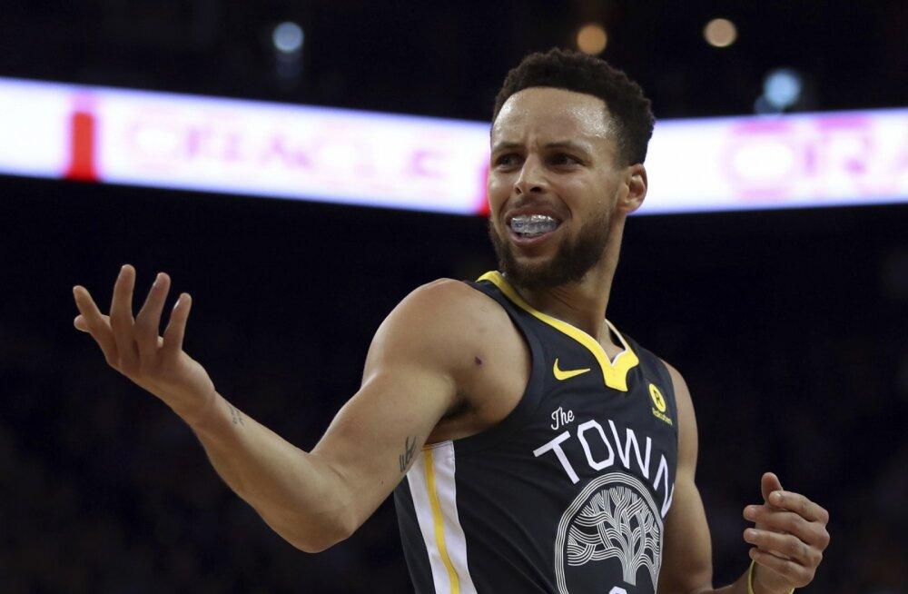 VIDEO | Finaali peaproov? Stephen Curry kostitas Boston Celticsit 49 punktiga