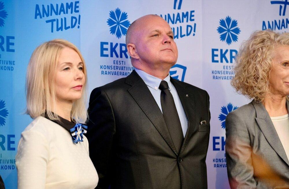 EKRE 2017. aasta Tallinna kohalike omavalimiste programmi tutvusamine