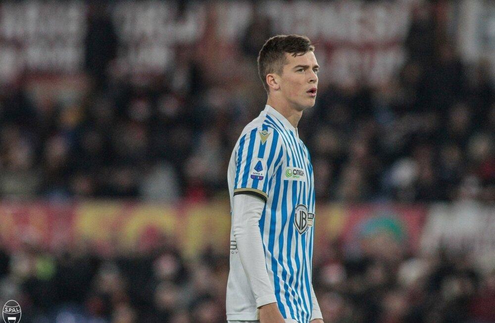 SPAL-i mängija Georgi Tunjov sai oskusi näidata Itaalia suurklubi AS Roma vastu.