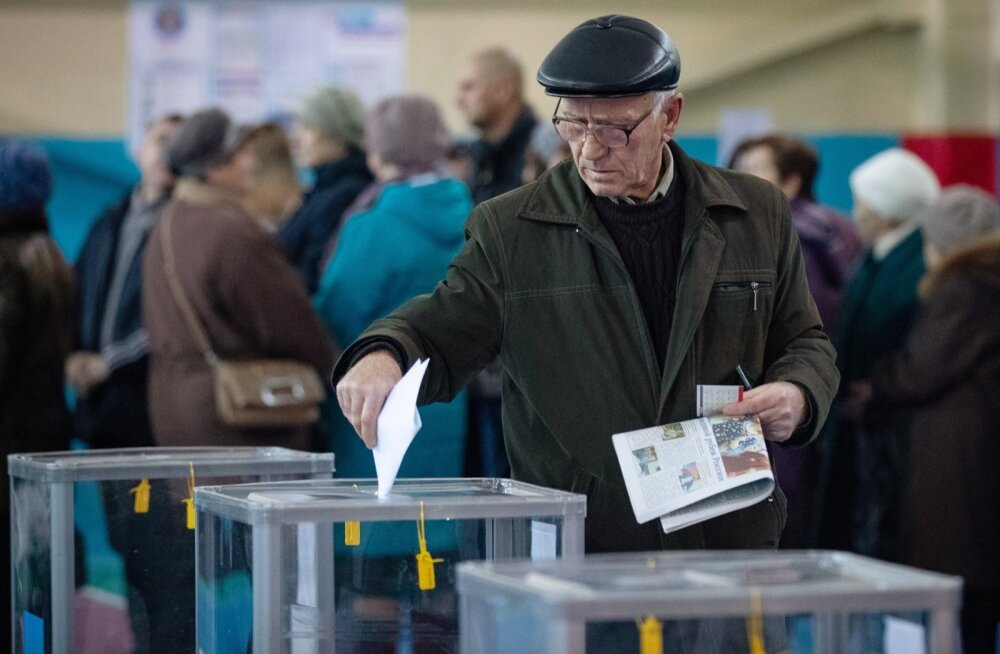 Elections in Lugansk People's Republic
