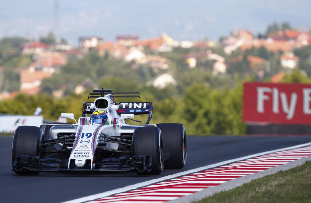 Di Resta istub Ungari GP-l Massa asemel Williamsi rooli