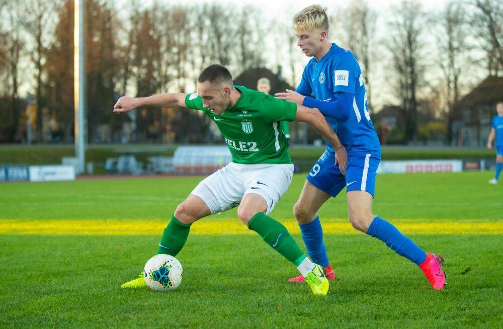 FC Tammeka vs FC Flora mäng