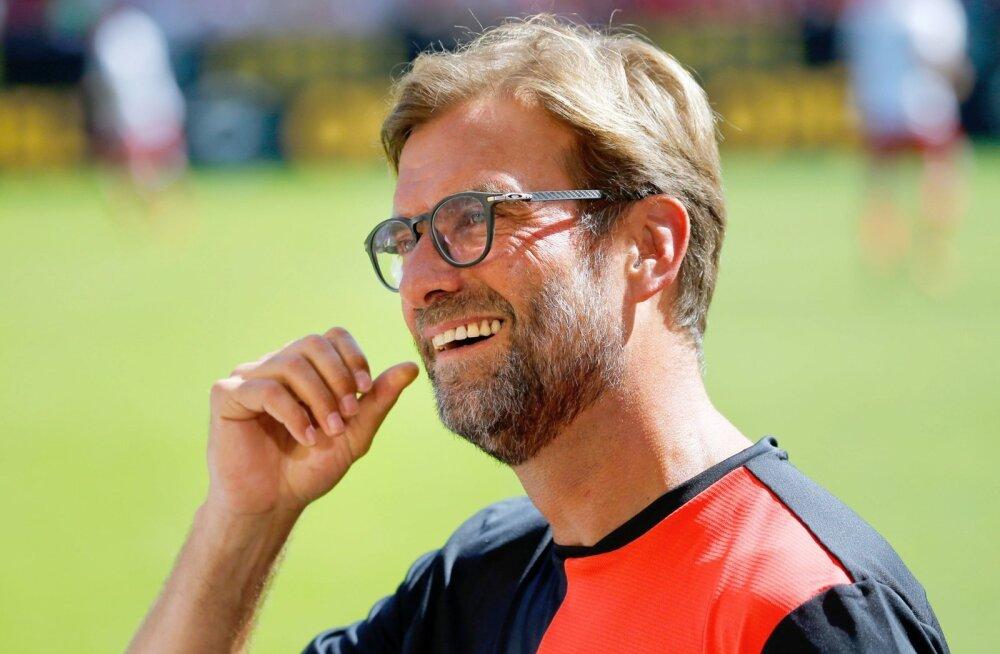 FC Liverpooli peatreener Jürgen Klopp