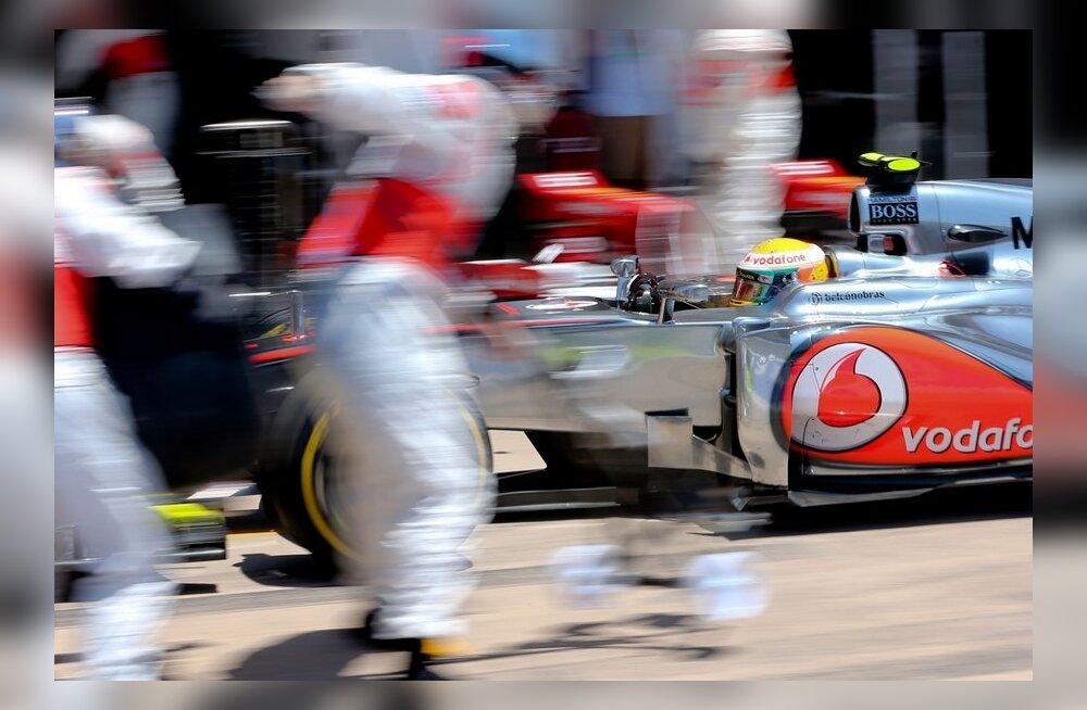 McLaren boksis