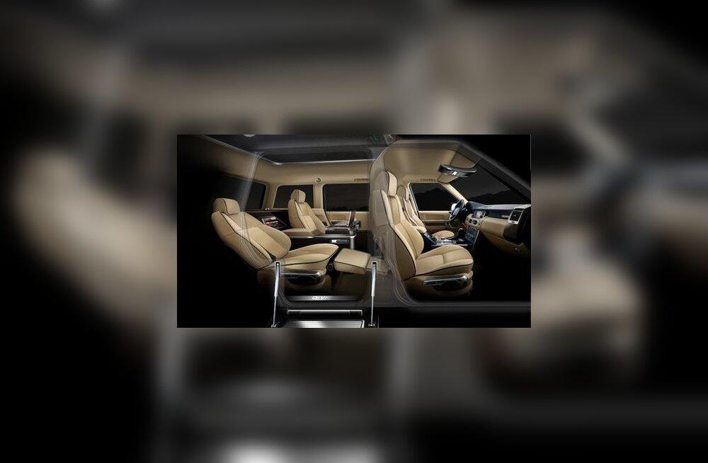 Range Rover G-VT salongis on näiteks sama  mugav kui eralennukis. Absurd?