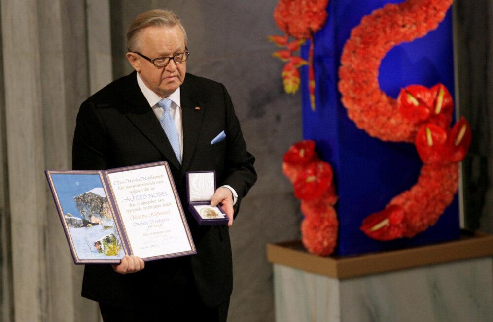 Soome kunagisel presidendil Martti Ahtisaaril diagnoositi koroonaviirus