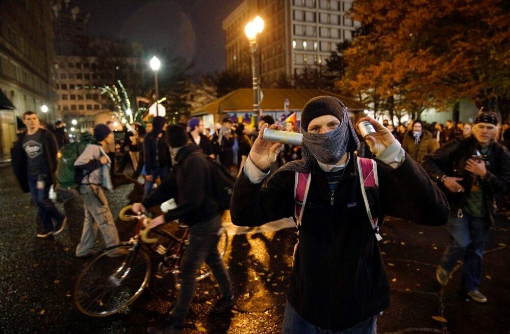 Trumpi-vastased meeleavaldused 12.11.2016