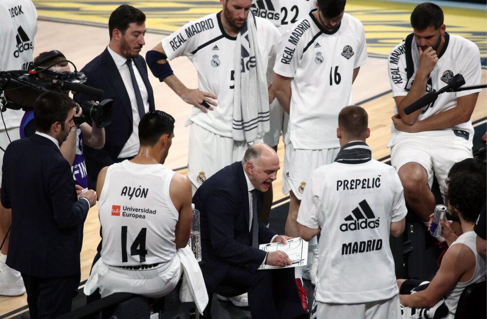 Madridi Real ja Barcelona pääsesid Hispaanias poolfinaali, Baskonia langes üllatuslikult välja