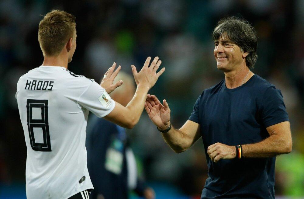 Toni Kroosi võiduvärav säilitas Joachim Löwile töökoha.