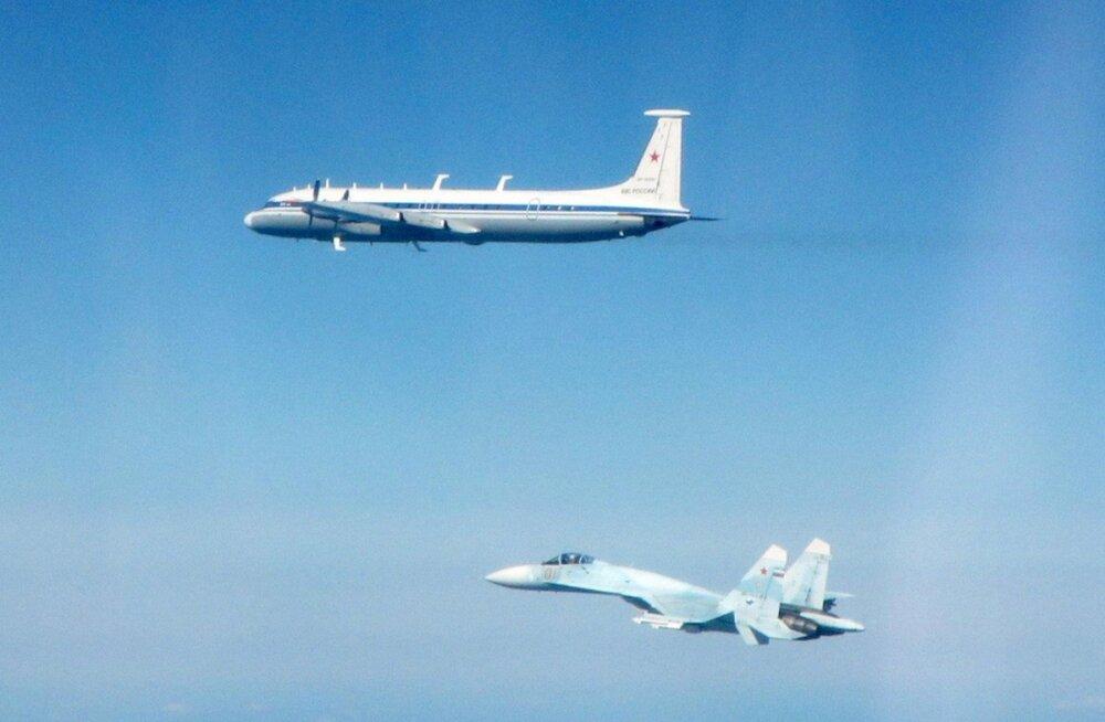 Harv nähtus: Eesti õhupiiril lendas Venemaa komandopunkt Iljušin Il-22