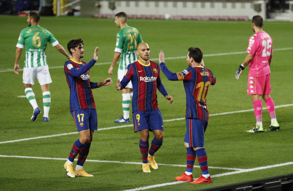 Messi tiimikaaslane suurde üleminekusse ei usu: ta jääb veel pikaks ajaks Barcelonasse