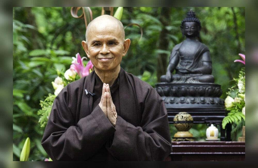 Alkeemia lugemisnurk. Meelerahu meister Thich Nhat Hanh: tõeline tugevus seisneb sügavas sisemises rahus