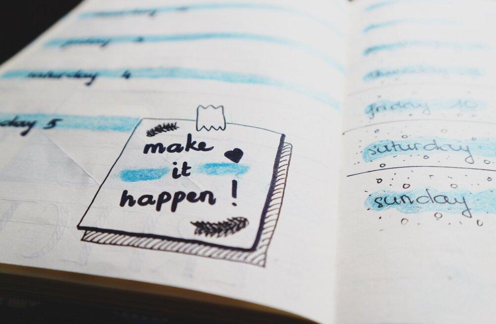 20 asja, milleks sul pole absoluutselt aega, kui üritad viia ellu oma eesmärke ja unistusi