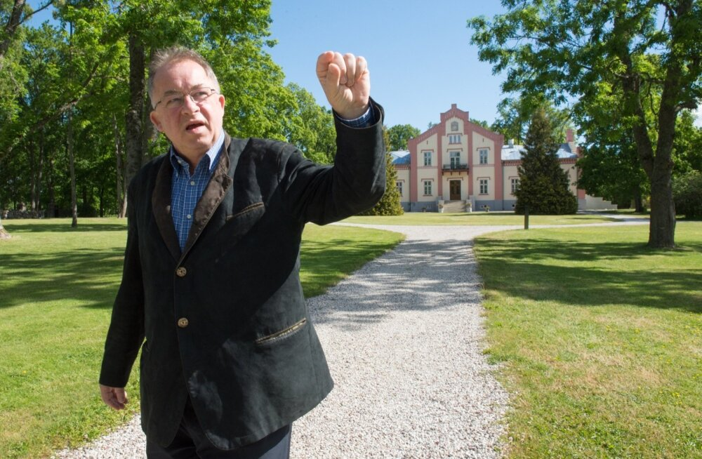 Üks Pädaste mõisa omanik Martin Breuer