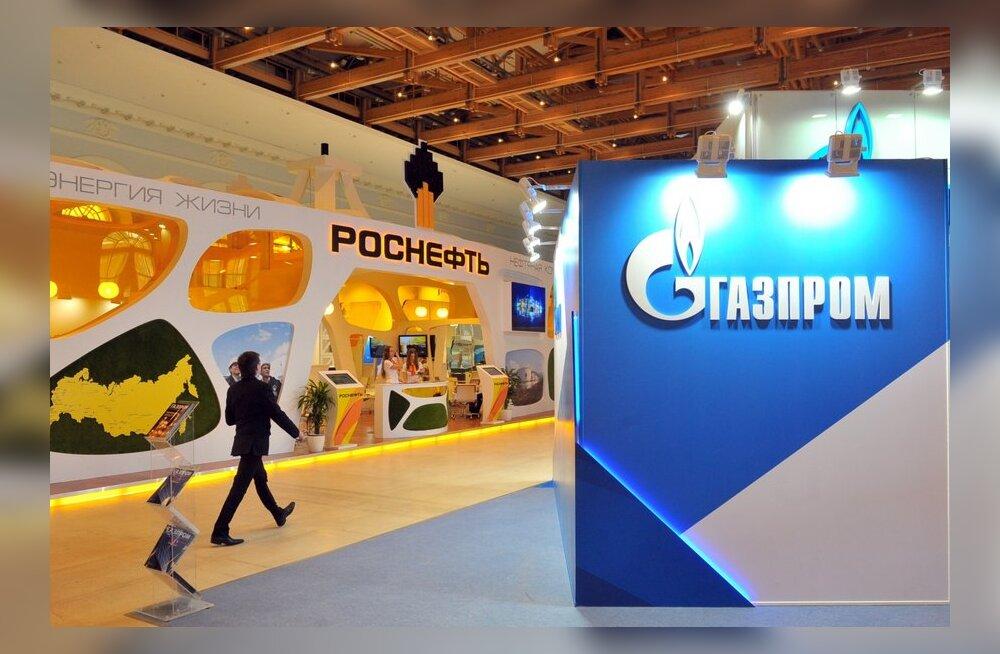 Venemaalaste unistuste töökoht on Gazprom