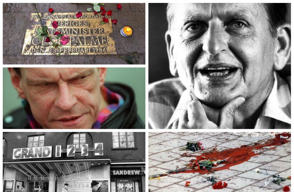 Rootsi prokuratuur: peaminister Olof Palme mõrv on lahendatud