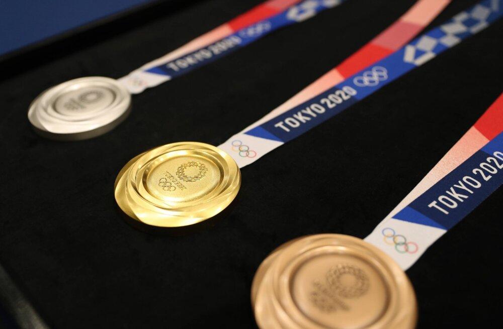 Tokyo olümpiamängude korraldajad näitasid esimest korda medaleid, mille nimel hakkavad võistlema ka Eesti sportlased