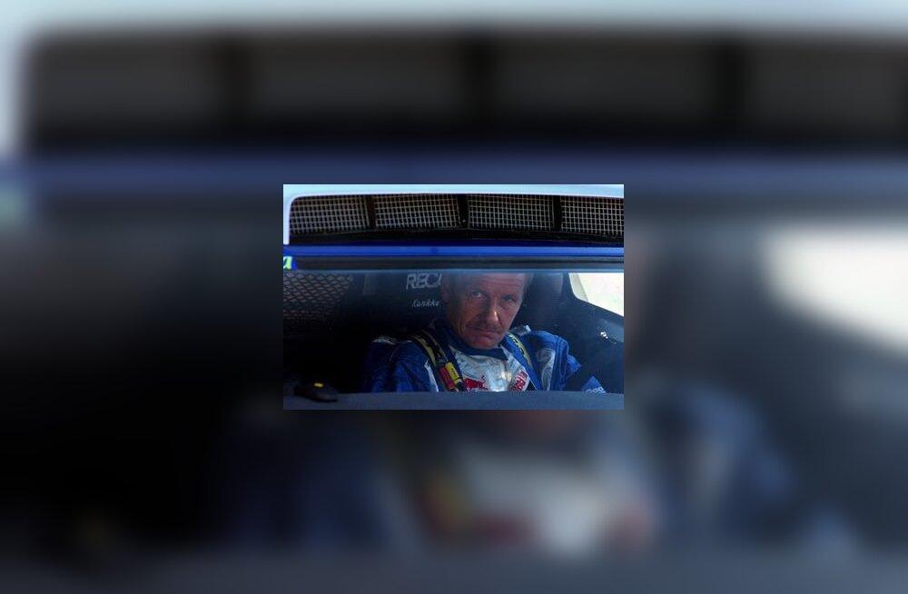 Juha Kankkunen Dakari rallil 1. jaanuaril 2005