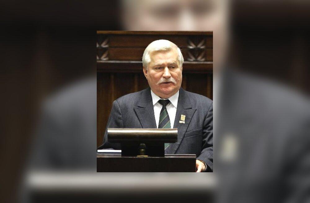 Lech Walesa, endine Poola president