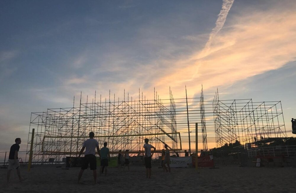 Pärnu rand 26. juuli 2017