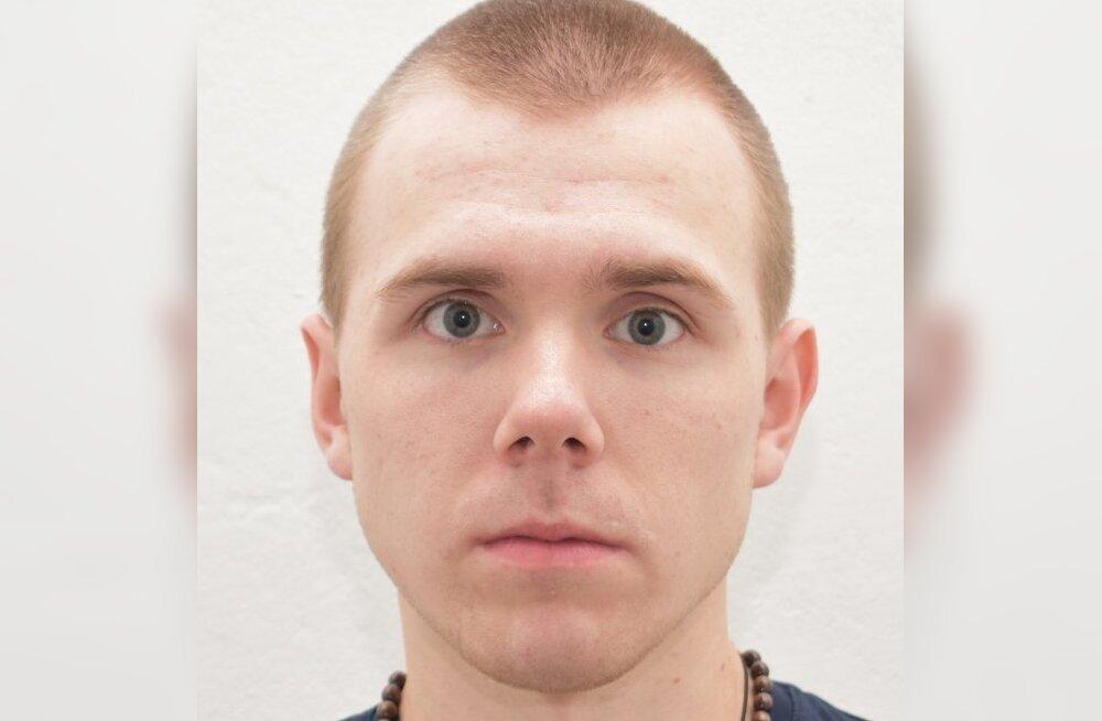 Не вернувшийся в Вирускую тюрьму 20-летний заключенный задержан