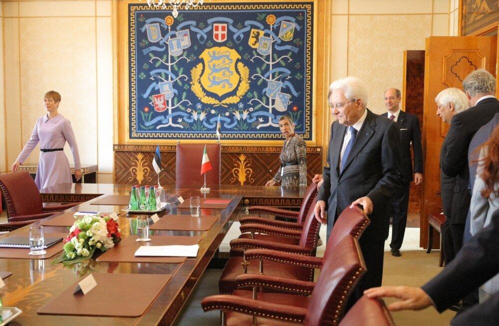 Itaalia president Mattarella: migratsioon on tõsine probleem