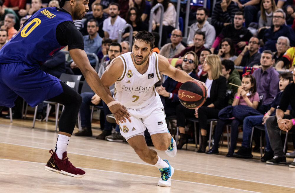 NBA klubid jahivad Madridi Reali staari