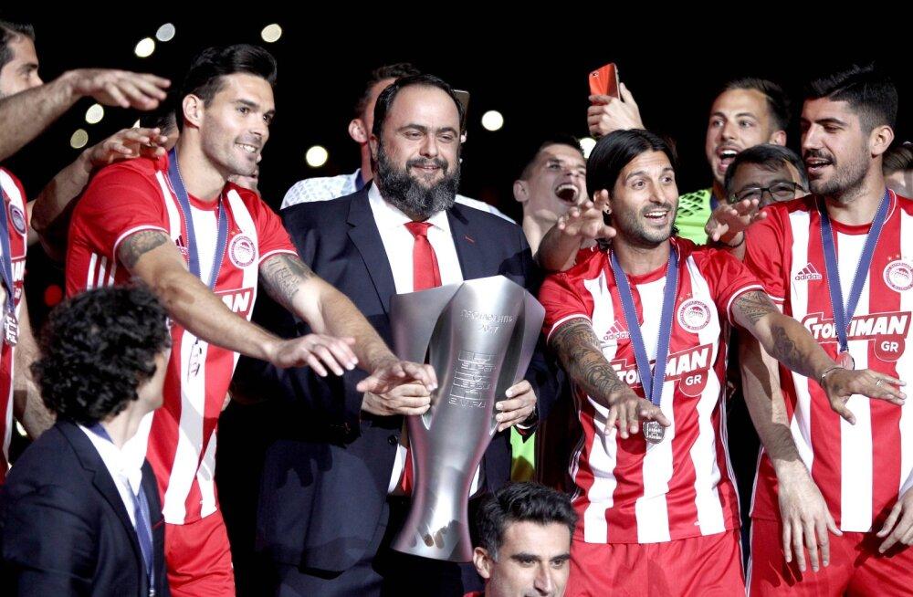 Skandaal: 44-kordset Kreeka jalgpallimeistrit kahtlustatakse kihlveopettuses
