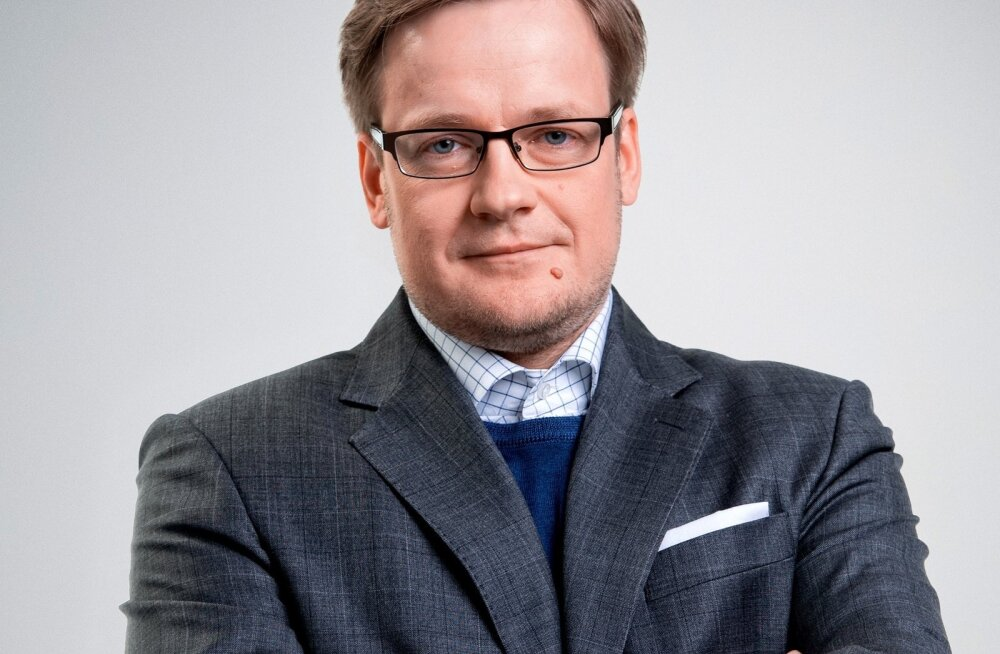 Эрик Моора, главный редактор Eesti Ekspress