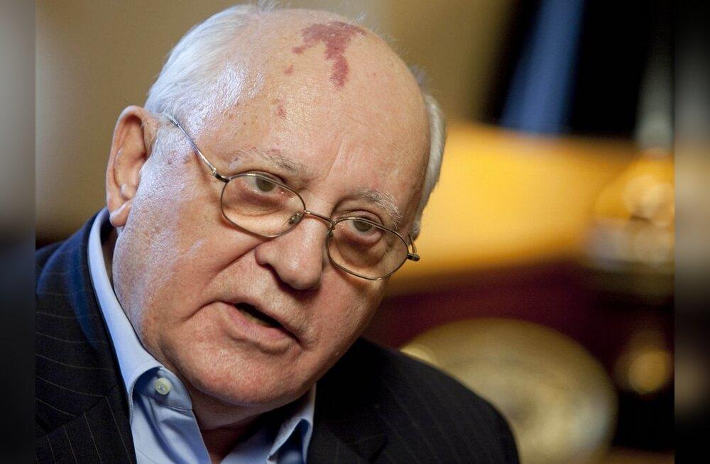 Gorbatšov: Putin ja partei tirivad Venemaad minevikku