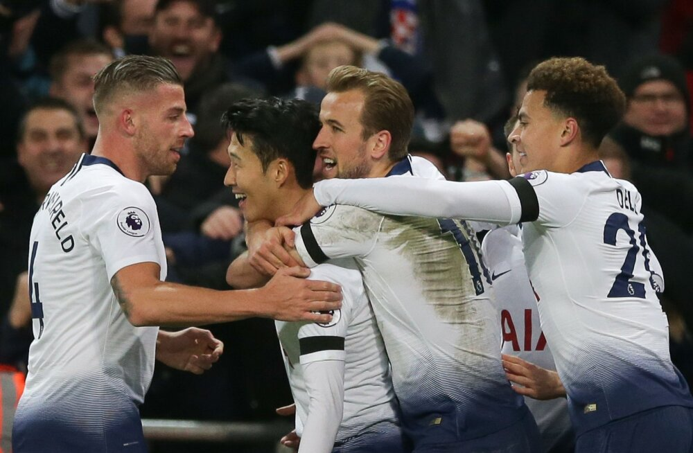VIDEO | Võimas Tottenham lõi Chelseale kolm väravat ja kinkis Sarrile esimese kaotuse