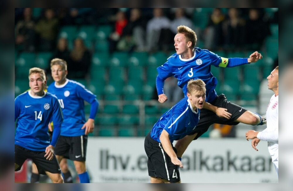 U19 jalgpalli EM-valikmäng: Eesti - Inglismaa, A. Le Coq Arena