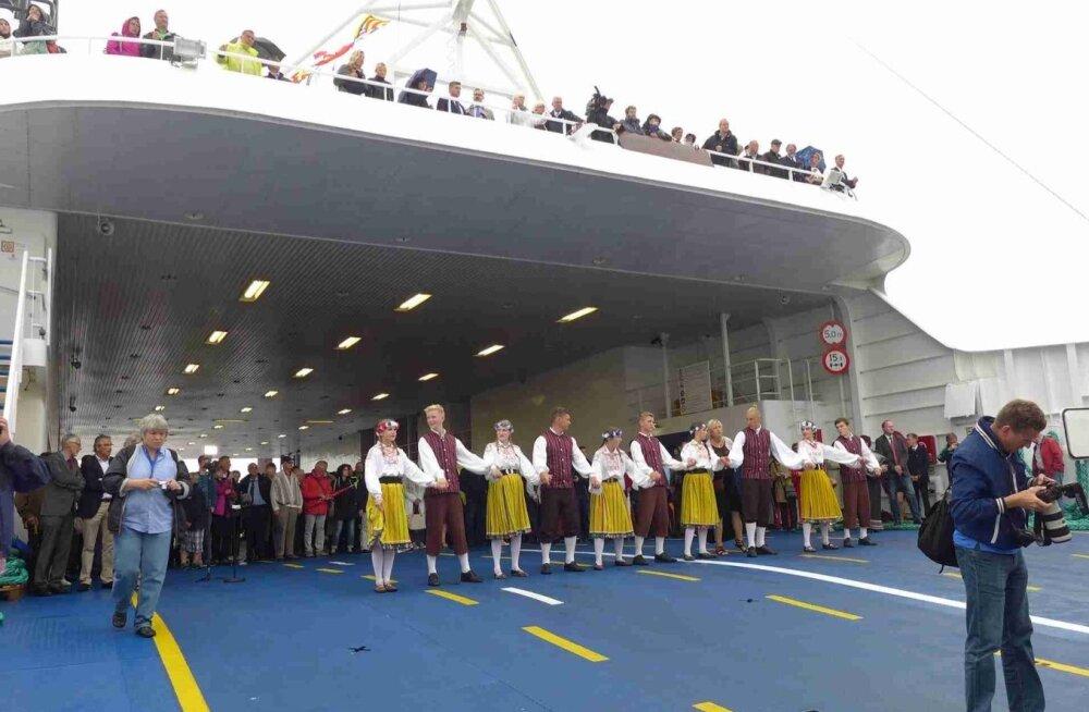 Saksamaal Leedo laevade avamine