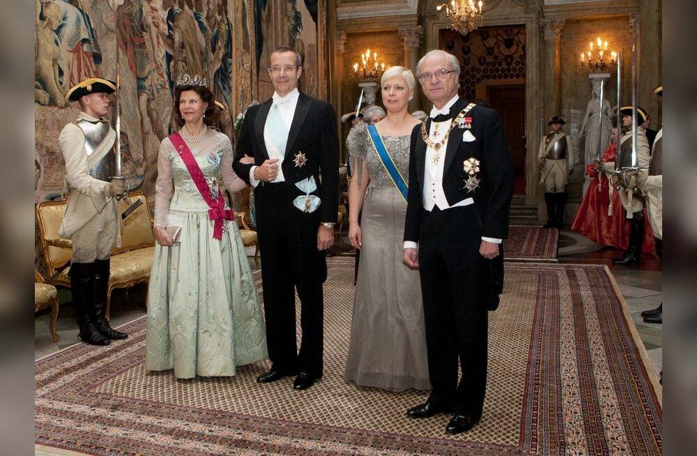 KÕIK FOTOD: vaata kronoloogilist ülevaadet presidendipaari visiidist Rootsi!